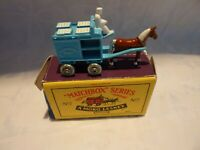 "A Moko Lesney ""Matchbox"" Series No 7 Blue Horse Drawn Milk Float Boxed"