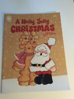1990 A Holly Jolly Christmas by Pat Olson Tole Painting Craft Book Patterns