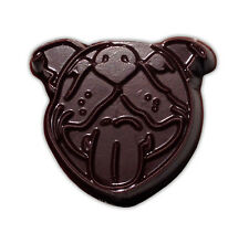 Smiling Pit Bull Face Chocolate Mold