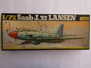 HELLER Saab J.32 Lansen 1/72 Scale
