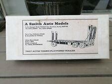 "HART SMITH MODELS T207 ACTM TOWED PLATFORM TRAILER  Kit White Metal 1/48"""