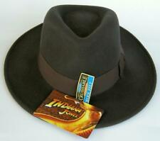 Indiana Jones LICENSED Lucas Film Wool Fedora Dorfman Pacific Hat with Tags Med.