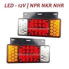 Rear Tail Light Fit Isuzu Elf Truck NPR NKR NHR Left + Right 12V LED