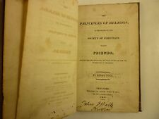 1819 HENRY TUKE Principles of RELIGION Society of FRIENDS Theology QUAKERS