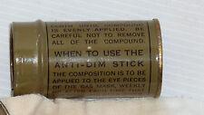 1 Anti- buée pour masque à gaz US 1943
