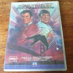 Star Trek IV 4 The Voyage Home DVD R4 Like New! FREE POST