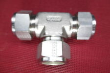 """Tylok® 3/4"""" Tube OD Equal Union TEE/T Fitting 316 Stainless Steel .75 0.75"""