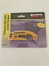 Platinum Tools P/N 15015C Category 5/5e/6 Cable Jacket Stripper PVC Jacket Only