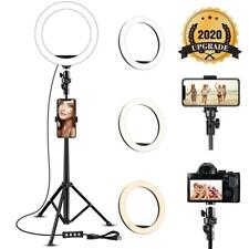 """8"""" Selfie Ring Light with Tripod Stand &Phone Holder for Live Stream/Makeup DA"""