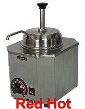 New  Nacho Cheese Warmer  Dispenser Pump Spout Holds a #10 can 2028 B