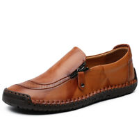 Men's Fashion Driving Moccasins Flats Boat Casual Shoes Slip On Loafers Big Size