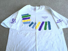 Tennis 1992 Uw Whitewater Tennis camp Tee Shirt College T shirt New Old Stock