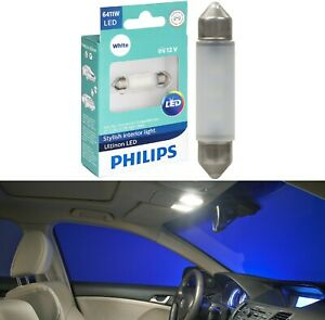 Philips Ultinon LED Light 6411 White 6000K One Bulb Interior Dome Festoon Lamp