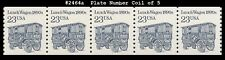 Us #2464a Mnh Pnc5 Pl #3 shiny gum Lunch Wagon