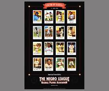 LEGENDS OF NEGRO LEAGUE BASEBALL Premium Poster Print - 16 Historic Superstars