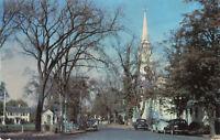 Postcard Falmouth Green