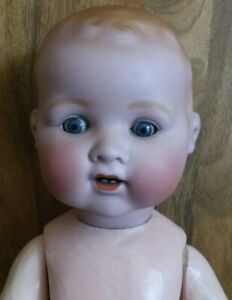 HUGE 25 INCH A M MOLD 351 DREAM BABY,PERFECT HEAD,BODY NEEDS TLC.