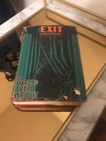 EXIT by HAROLD BELL WRIGHT 1930 FIRST EDITION W/DJ 1st PRINT