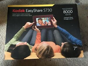 KODAK- EASY SHARE S730- DIGITAL FRAME- UP TO 8000 PICTURES- 1GB