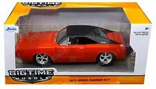 Jada 1:24 W/B Big Time Muscle - 1970 Dodge Charger R/T Diecast Car Red