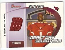 ANTREL ROLLE JERSEY ROOKIE 2005 BOWMAN DRAFT DAY SELECTIONS ARIZONA CARDINALS