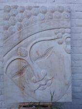 Magnifiques visage de bouddha - 70 x 100 cm - méditation mandala abimé