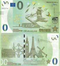 Biljet billet zero 0 Euro Memo - Helgoland (010)