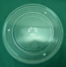 Clear Glass Microwave Replacement Plate (A079 H72) 13 1/8''  (S3)