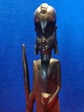 Vintage Hand Carved Wooden Figurine