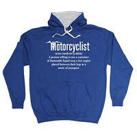 Motorcyclist Noun HOODIE motor bike motorcycle hoody funny birthday gift 123t