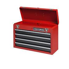 Craftsman 4 Drawer Portable Metal Box Steel Mechanic Tool Chest Toolbox New