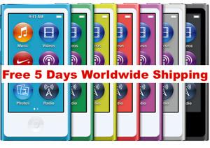 Apple iPod nano 7th 8th Generation (16 GB) 5 Days Free Worldwide Shipping
