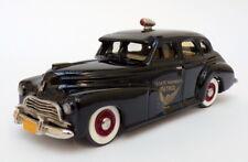 Goldvarg 1/43 Scale No.2 - 1946 Chevrolet Stylemaster 4Dr Police Car - Black