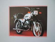 - RITAGLIO DI GIORNALE ANNO 1982 - MOTO LAVERDA LZ 50