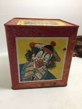 Mattel Toys Vintage JACK IN THE BOX Original Pop Up Clown