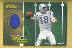2003 Fleer ULTA Peyton Manning THOUCHDOWN KINGS Jersey