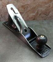 Vtg. Stanley Bailey No. 5 Smooth Bottom Jack Plane USA woodworking hand tool