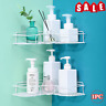 Bathroom Triangular Shower Shelf Corner Bath Storage Holder Organizer Rack NEW M
