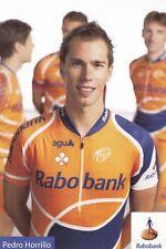 CYCLISME carte cycliste PEDRO HORRILLO équipe RABOBANK