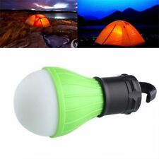 Top Portable Tent Light Outdoor Camping Fishing Light Bulb Lantern Lamp 3LED