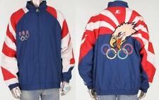90s Vintage 1996 Olympic Usa Dream Team Sewn Atlanta Eagle Starter Jacket Nwt Xl