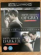 Fifty Shades Of Grey 2 Movie Collection 4K UHD Blu-Ray Boxset *Free Post*