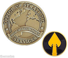 OSS OFFICE OF STRATEGIC SERVICES SPECIAL OPERATIONS BRANCH  CHALLENGE COIN
