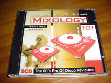 MIXOLOGY 101 CD -The 80's Era Of Disco Revisited ULTIMIX 80's MEGAMIX DJ Jamtrax