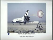 Columia Sts-58 Back-up Astronaut Larry Young Autograph,Hand Signed