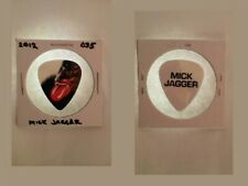 MICK JAGGER ROLLING STONES 2012 TOUR GUITAR PICK 035