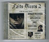 ♫ - FAITS DIVERS 2 - CD 12 TITRES - 2010 - RAP FRANÇAIS - NEUF NEW NEU - ♫
