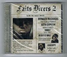 FAITS DIVERS 2 - CD 12 TITRES - 2010 - RAP FRANÇAIS - NEUF NEW NEU