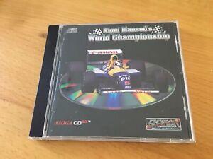 Nigel Mansell's World Championship - Commodore Amiga CD32