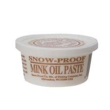 Snow-Proof Mink Oil Paste N/A